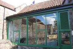 Daftmill-Fensterfront