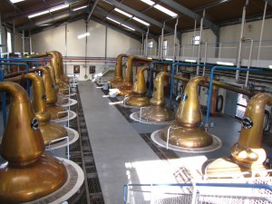 Pot Stills Glenfiddich