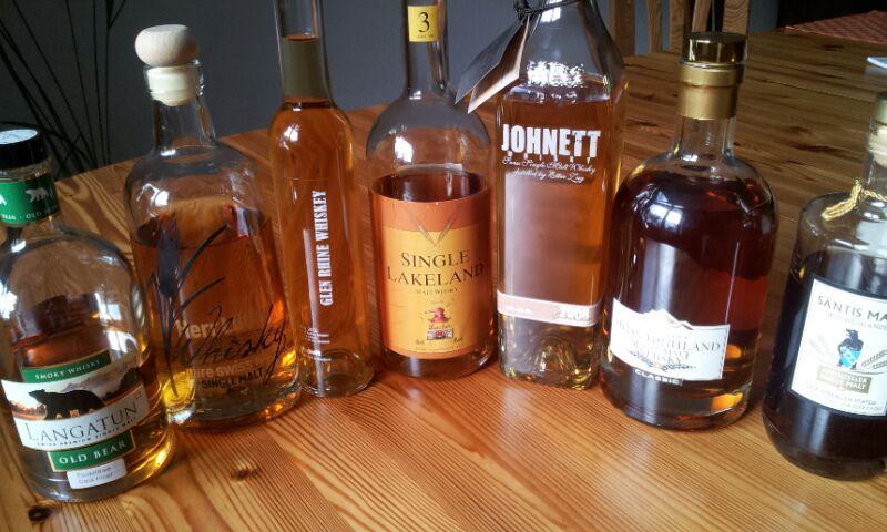 Schweizer Whiskys