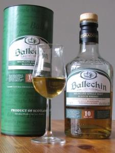 Ballechin Flasche