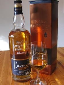 Benromach Flasche Glas