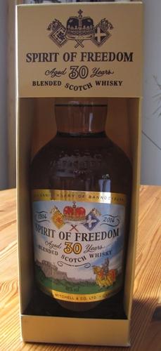 Spirit of Freedom verpackt
