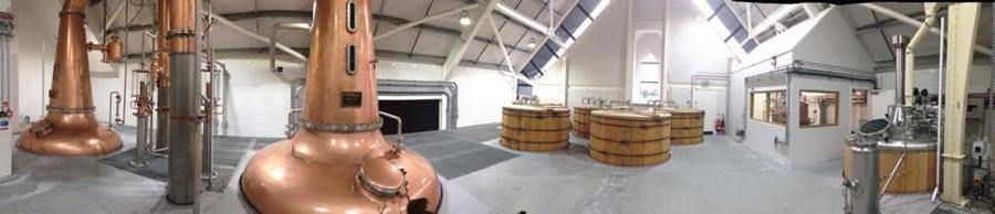 Harris Distillery Panorama
