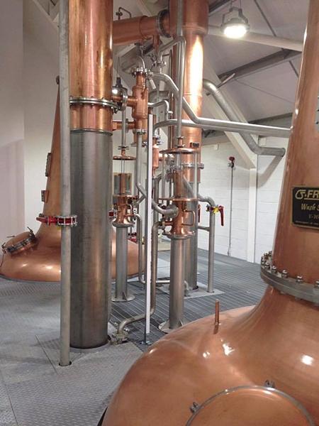Harris Distillery Stills