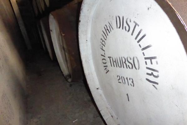 Wolfburn Distillery Cask No 1