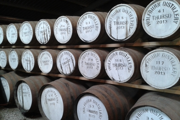 Wolfburn Distillery Casks