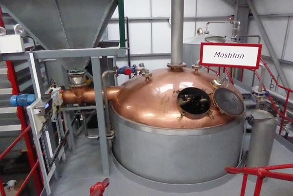 Wolfburn Distillery Mashtun