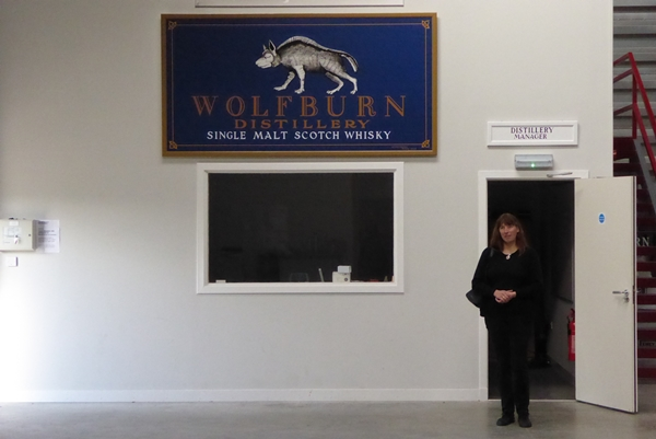 Wolfburn Distillery Office