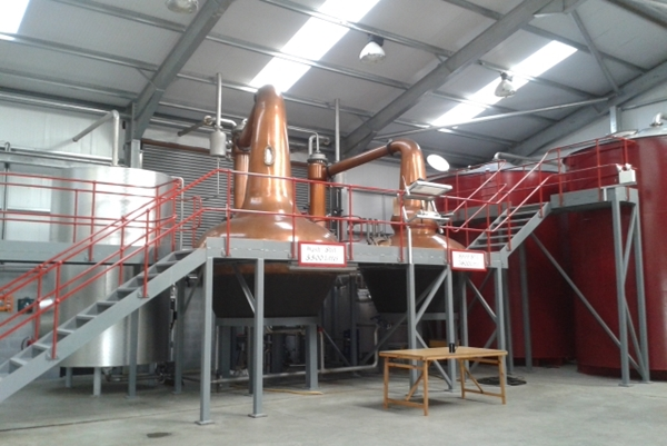 Wolfburn Distillery Stills +Tanks