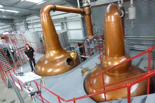 Wolfburn Distillery Stills