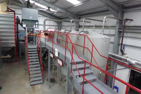 Wolfburn Distillery Washback Mashtun
