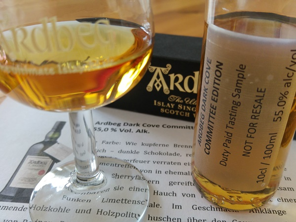 Ardbeg Dark Cove Sample