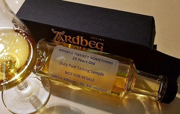 Sampleflasche Ardbeg Something