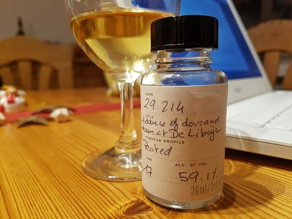 Sample Scotch Malt Whisky Socoety